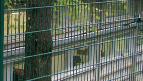 SPORT 2×8 D.M., wire fence for stadiums