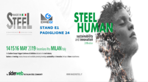 made in steel banner
